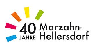 Logo 40 Jahre Marzahn Hellersdorf